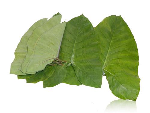 Patra (Taro Leaves)